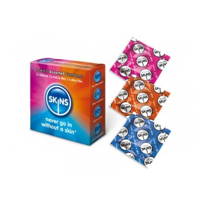 Skins Assorted Condoms - 4 Pack