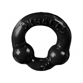 OXBALLS Powerballs Super Stretch Cock Ring (Black)