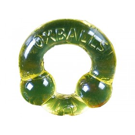 OXBALLS Powerballs Super Stretch Cock Ring (Piss Yellow)