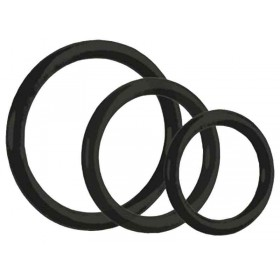 CalExotics Tri-Rings 3 Piece Cock Ring Set