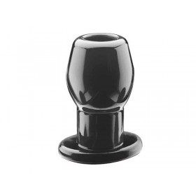 Perfect Fit Ass Tunnel Large Black Butt Plug