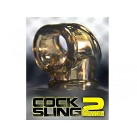 OXBALLS Cocksling-2 Cock Ring (Smoke)