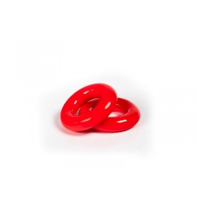 Zizi Top Cock Ring (Pair) - Red